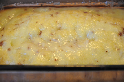 Travel by stove recipes from bosnia herzegovina heres what it looked like after 20 minutes in the oven like an undercooked omelet forumfinder Images
