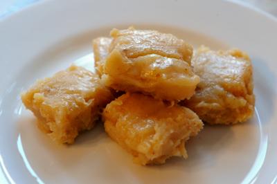 Food Recipe Costa Rican Coconut Fudge Cajeta De Coco
