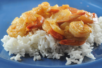 ... guinean shrimp country guinea bissau course side makes 4 to 6 servings